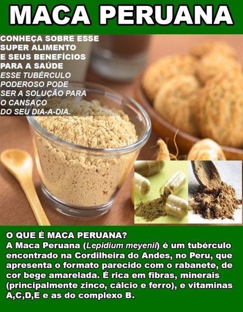 Maca Peruana como alimento natural importante para a saúde e seus benefícios