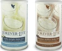 Shake Forever Lite Sabores chocolate e baunilha 525gr