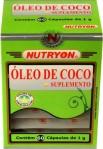 Suplemento a base de óleo de coco Nutryon