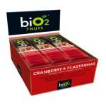 Barra de cereal com frutas Bio Nuts Cranberry Bio2