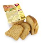 Pão rústico integral da schär sem glúten