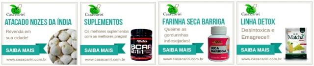 Promoção de produtos naturais e Suplementação online