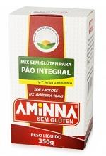 Mistura para Preparo de Pão Integral Sem Glúten e Sem Lactose