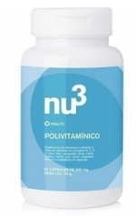 Suplemento multivitamínico e polimineral Nu3 health