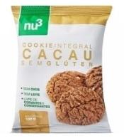 Cookie integral Cacau sem glúten Nu3