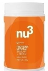 Suplemento Shake proteico com Ervilha Arroz e Cacau Nu3