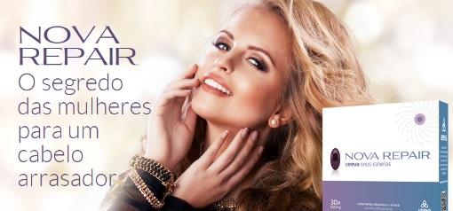 Suplemento vitaminico e mineral para cabelos Veeva Nova Repair para cabelos com vitaminas e minerais