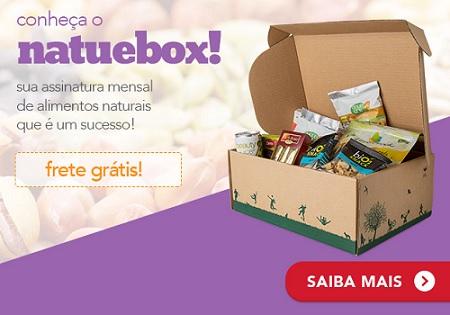 Natuebox Assinatura mensal de alimentos naturais com frete grátis