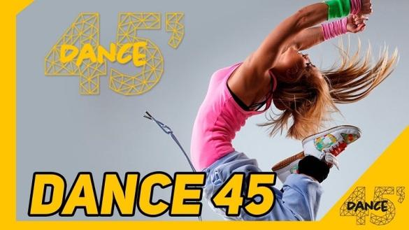 Programa Dance 45 para manter a saúde e perder calorias