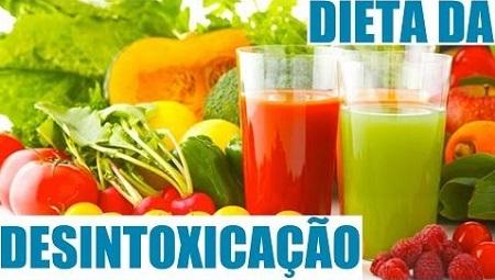 Dieta de desintoxicação, dieta detox correta e saudável